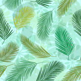 Palm Leaves Pattern 2 Stock Images