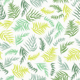 Palm Leaves Pattern Stock Photo
