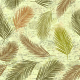 Palm Leaves Pattern 5 Royalty Free Stock Photo