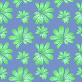 Palm leaves. Seamless pattern of palm leaves Royalty Free Stock Images