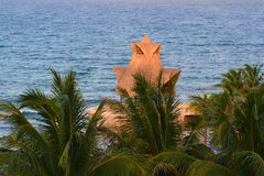 Palm in Mexico Royalty Free Stock Image