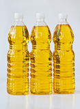 Palm oil. In PET bottles Stock Photos