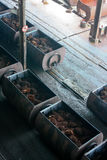 Palm Oil Processing Royalty Free Stock Photo