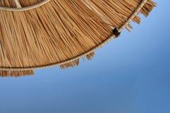 Palm parasol Royalty Free Stock Photo