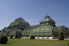 Palm Pavilion. In Schonbrunn park, Vienna, Austria Royalty Free Stock Photo