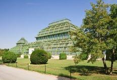 Palm pavilion . Schonbrunn, Vienna, Austria Stock Photo