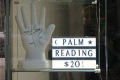 Palm Reading Stock Photos