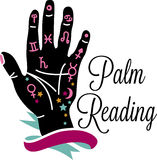 Palm Reading Stock Photo