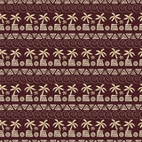 Palm seamless pattern Royalty Free Stock Photo