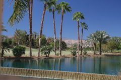 Palm springs. Scenic view in Palm Springs California royalty free stock photos
