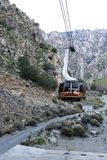 Palm Springs Aerial Tramway Royalty Free Stock Images