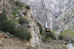 Palm Springs Aerial Tramway Royalty Free Stock Photography