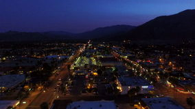 Palm Springs-Antenne stock footage
