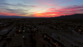 Palm Springs-Antenne stock video footage