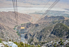 Palm Springs Ariel Tramway stock images