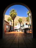Palm Springs céntrico, California imagenes de archivo