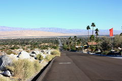 Palm Springs California. On a sunny day stock photography