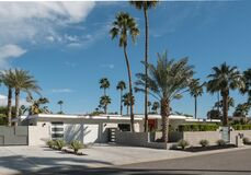 Free Palm Springs, California Classic Midcentury Residential Architecture Stock Photos - 174700243