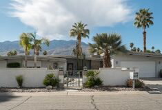 Free Palm Springs, California Classic Midcentury Residential Architecture Stock Photography - 174701852