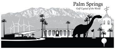 Palm Springs, California, los E.E.U.U. Imágenes de archivo libres de regalías