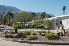 Free Palm Springs, California Mid-century Residential Neighborhood Stock Images - 174698924