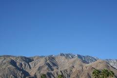 Palm Springs California Mountains Royalty Free Stock Photos