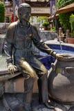 PALM SPRINGS CALIFORNIA/USA - JULI 29: Sonny Bono staty i PA Arkivfoto