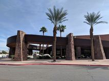 Palm Springs Convention Center imagens de stock royalty free