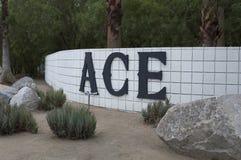 Palm Springs d'hôtel du CÆ, la Californie Photo libre de droits