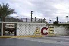 Palm Springs d'hôtel du CÆ, la Californie Photo stock