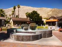 Palm Springs de stad in, Californië stock afbeeldingen