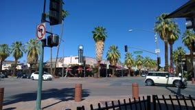 Palm Springs del centro Fotografia Stock Libera da Diritti