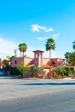 Palm Springs dom obraz stock