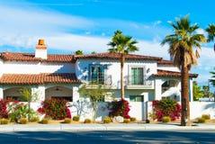 Palm Springs dom obraz royalty free
