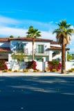 Palm Springs dom zdjęcia royalty free