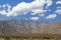Palm Springs góry zdjęcia stock