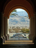 Palm Springs gestaltete Berge Stockfoto