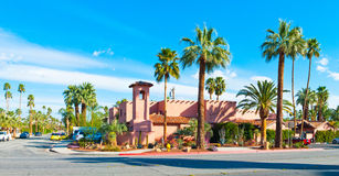 Palm Springs Home. A house in downtown Palm Springs, California, USA royalty free stock photos