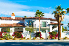 Palm Springs Home Royalty Free Stock Image