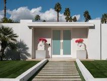 Palm Springs-Klassikerarchitektur stockfotos