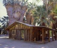 Palm Springs log cabin stock photos