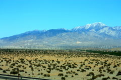 Palm Springs Mountain Royalty Free Stock Image