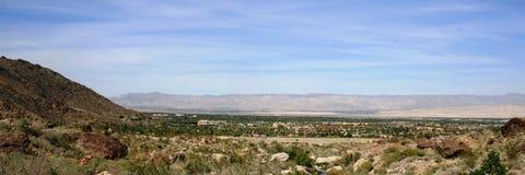 Palm Springs Panorama Royalty Free Stock Photo