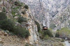 Palm Springs Powietrzny tramwaj fotografia royalty free