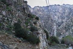 Palm Springs Powietrzny tramwaj obraz stock