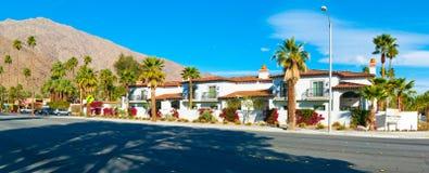 Palm Springs Stwarza ognisko domowe zdjęcia stock