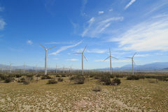 Palm Springs Wind Energy Royalty Free Stock Photography
