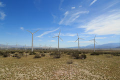 Palm Springs Wind Energy Royalty Free Stock Image