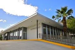 Palm SpringsArt Museum A+D mitt arkivbild