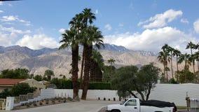 Palm Springsbergsikt Arkivfoton
